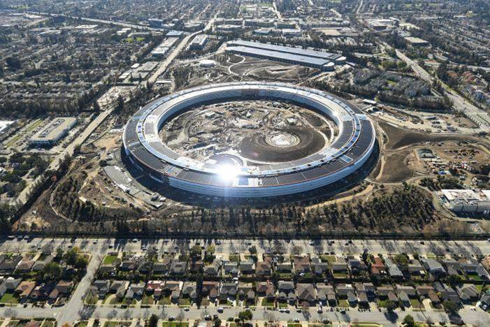 Inside Apple's new 'spaceship' HQ