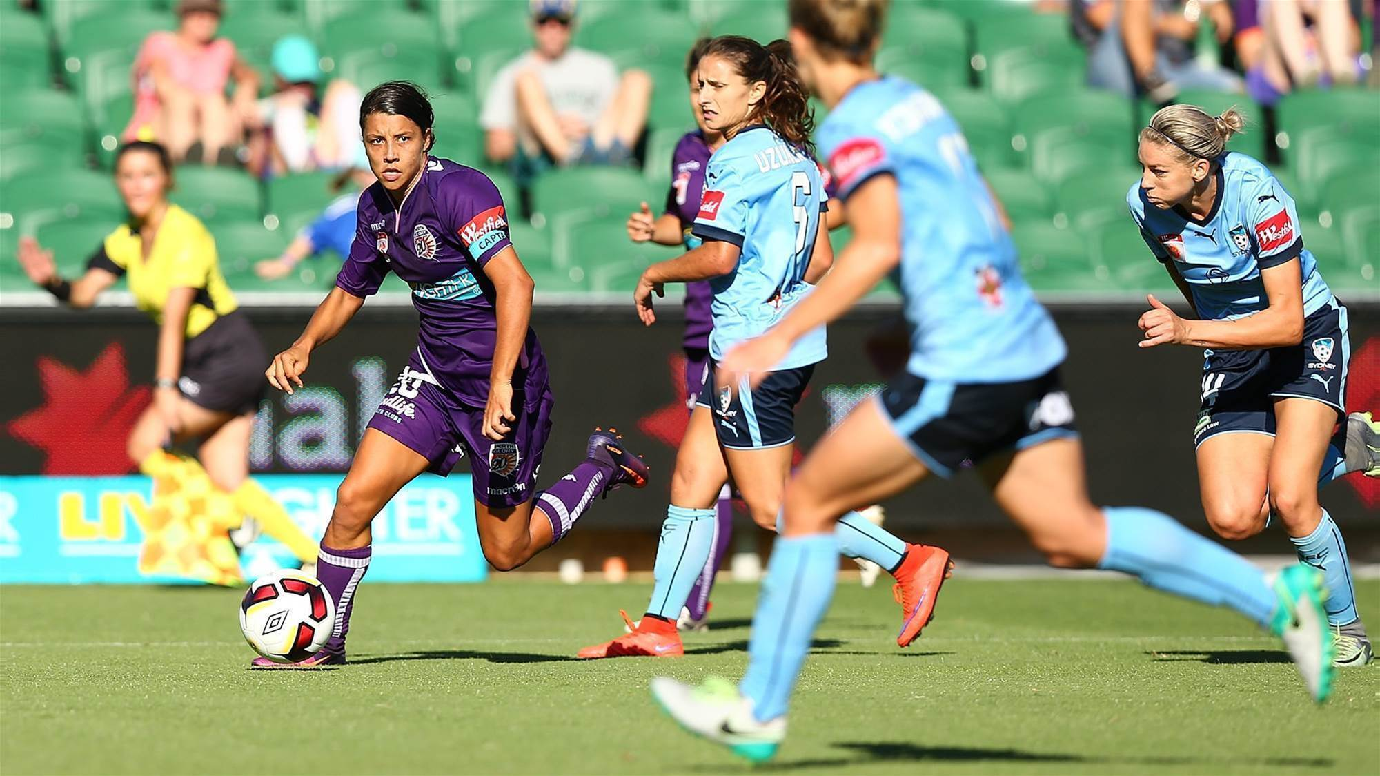 Sam Kerr: Glory don't fear City