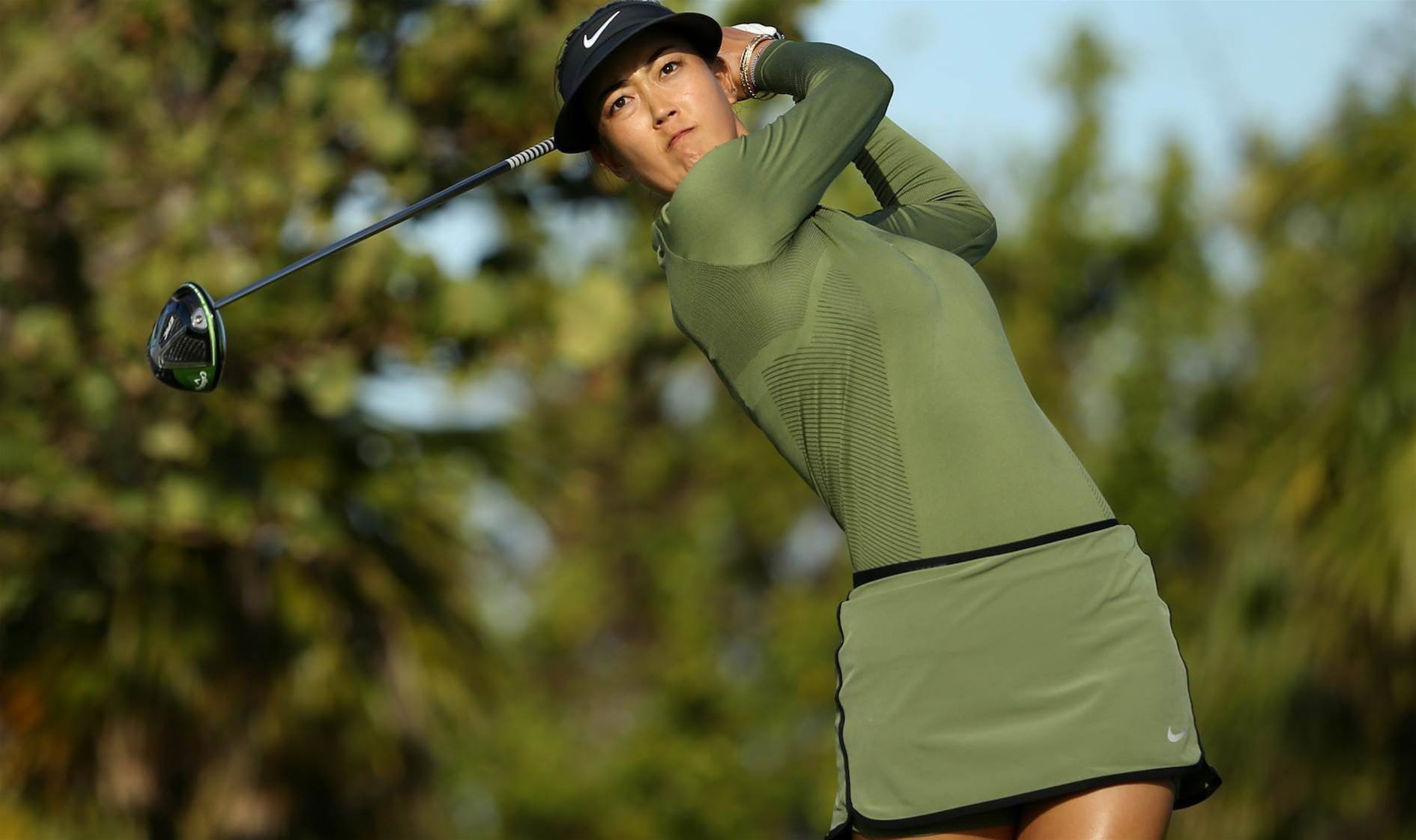WOMEN'S OPEN: Wie clawing back into the limelight