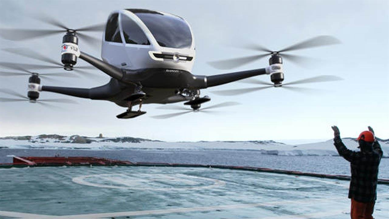 Passenger drones to take flight in Dubai