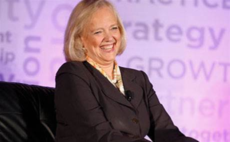 HPE will redouble its channel efforts after 10 percent sales drop, says Meg Whitman