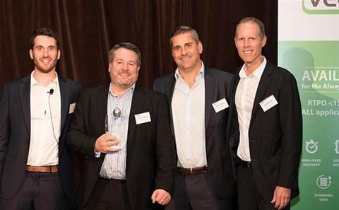 Dimension Data, Brennan IT, Ingram Micro, CSA, Fujitsu clinch Veeam partner awards