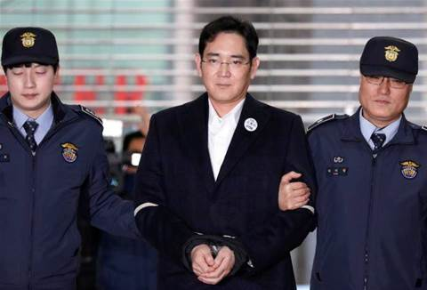 Samsung boss charged with bribery, corporate nerve centre shutdown