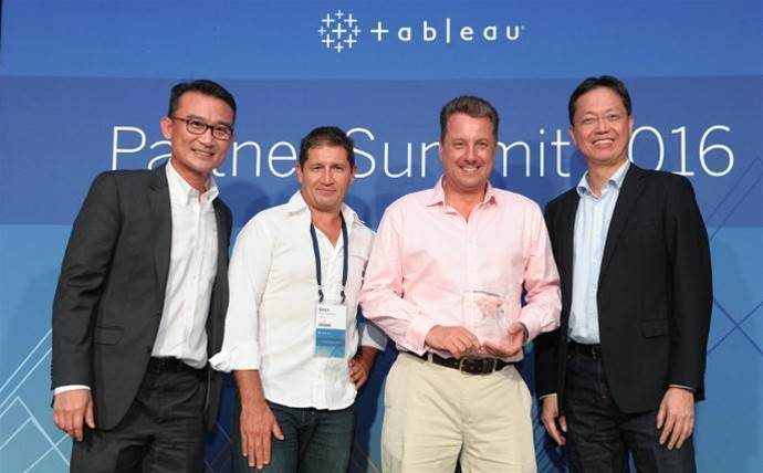 Visual analytics vendor Tableau reveals top APAC partners