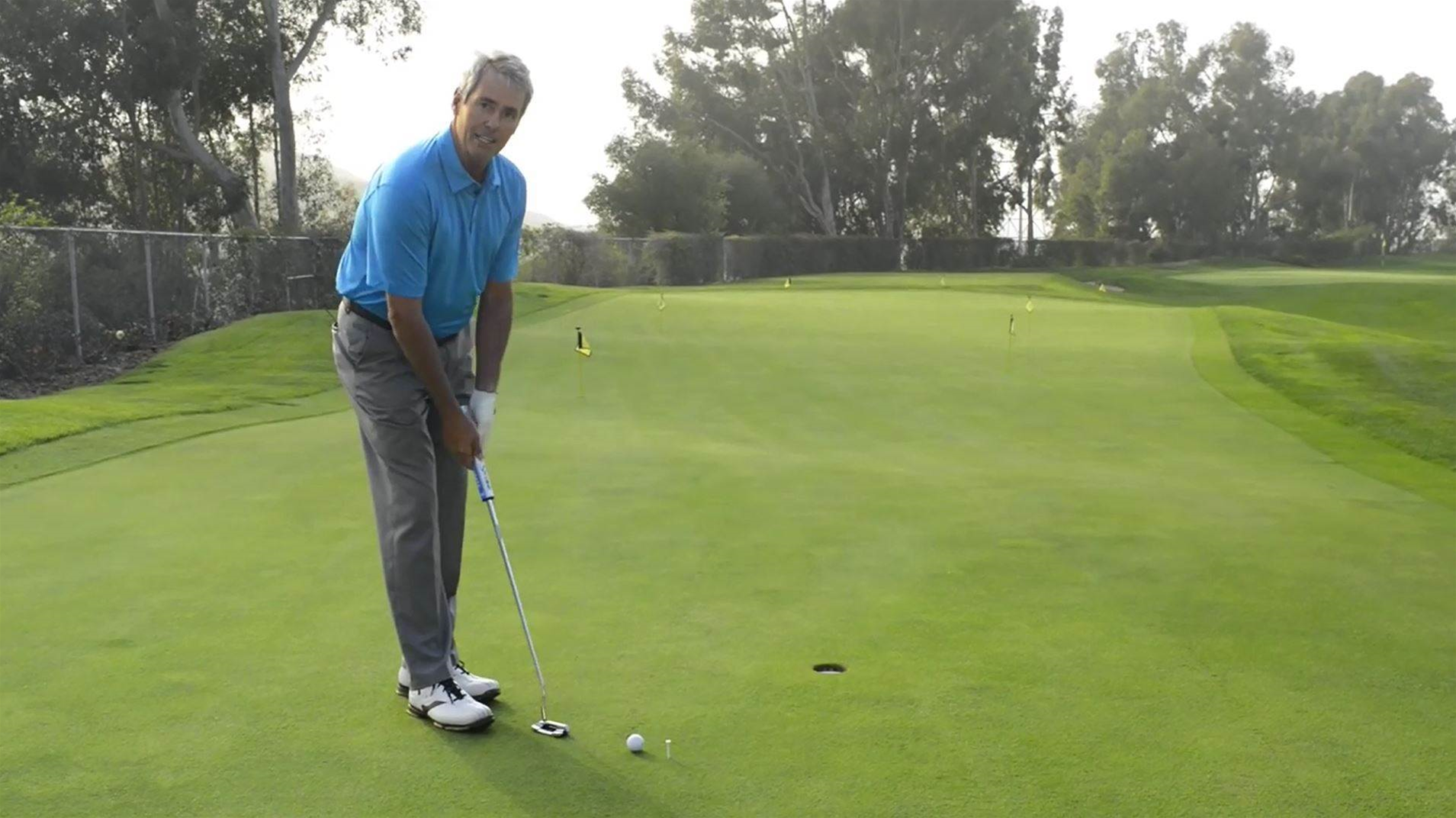 VIDEO TIP: Ian Baker-Finch's speed putting drill