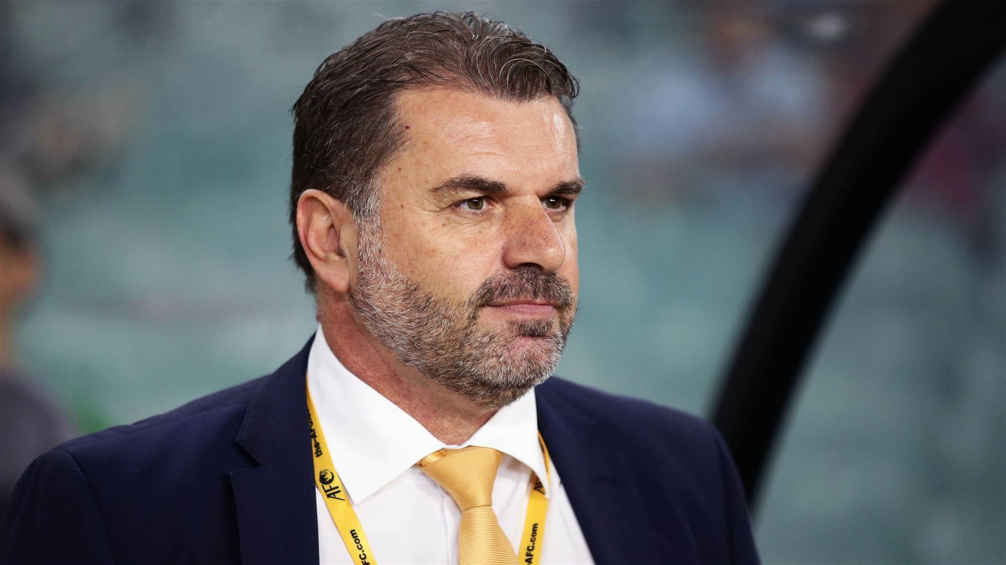 Ange: If it was a foreign coach we'd say what a genius