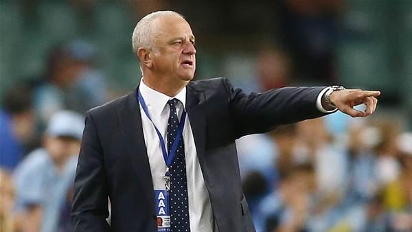 A-League chief condemns Arnie's antics