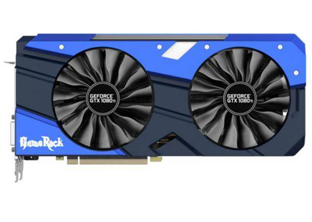 Palit's new GTX 1080 Ti GameRock video card  goes quad-fan