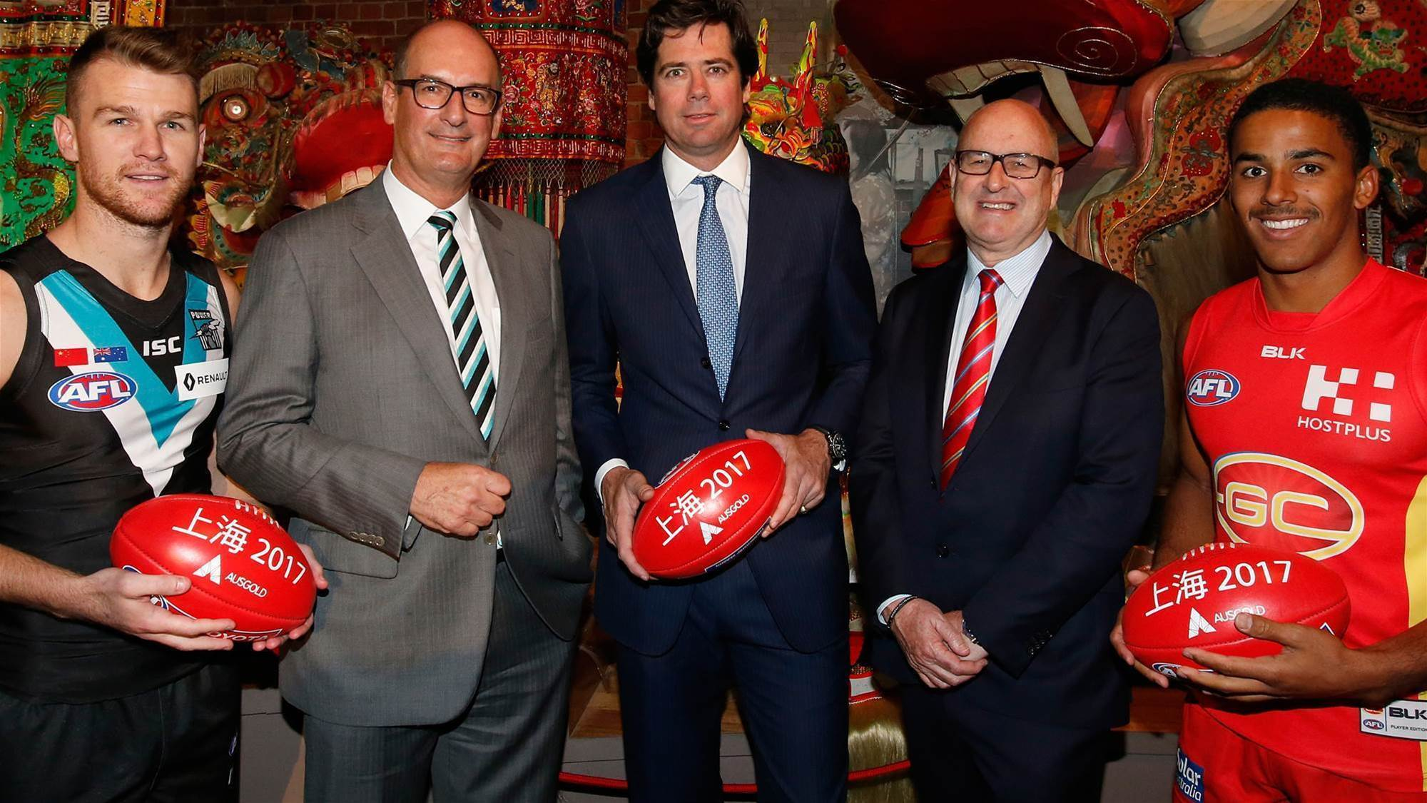 China AFL match sells out, may go ahead