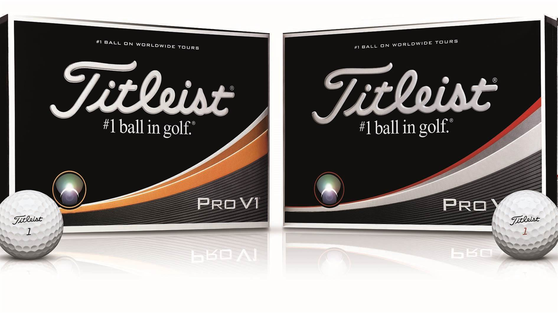 TESTED: Titleist Pro V1 & Pro V1x balls