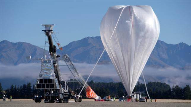 Eighth time lucky: NASA launches balloon to collect space data
