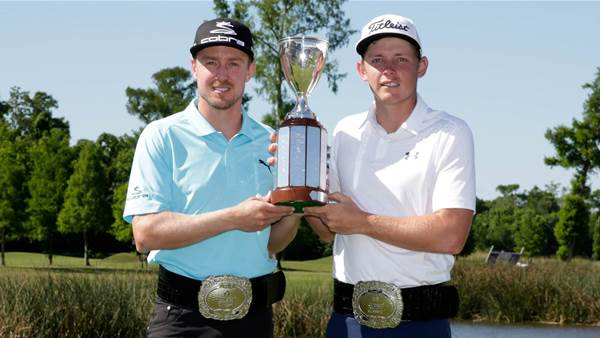 PGA Tour: Smith and Blixt claim Zurich Classic