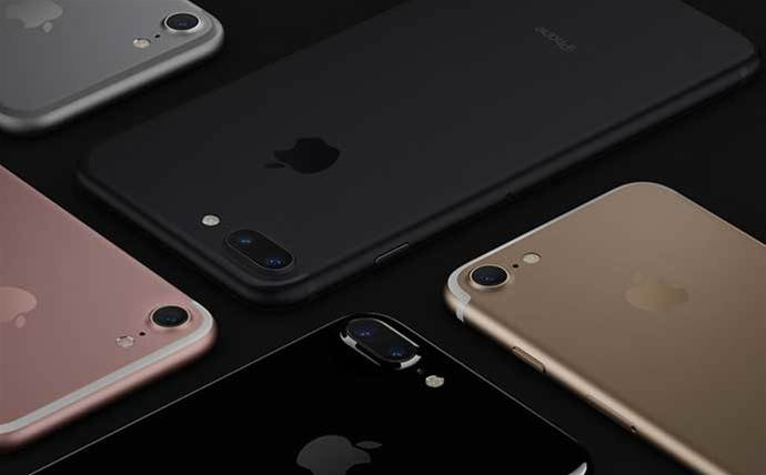 Apple iPhone revenue slips