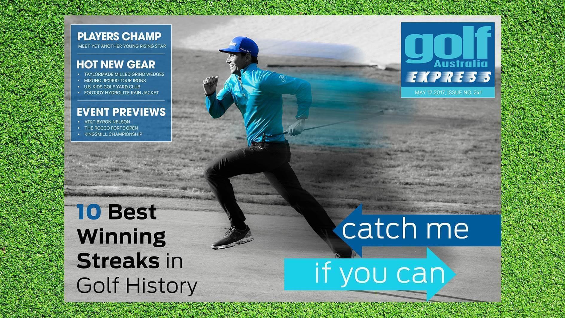 GA Express #241: Golf's greatest winning streaks