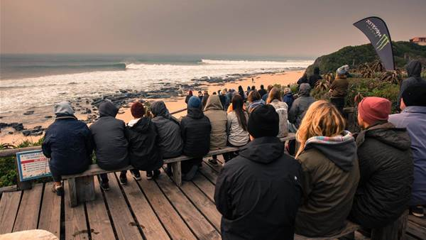 While Fiji waits for swell, J-Bay turns on