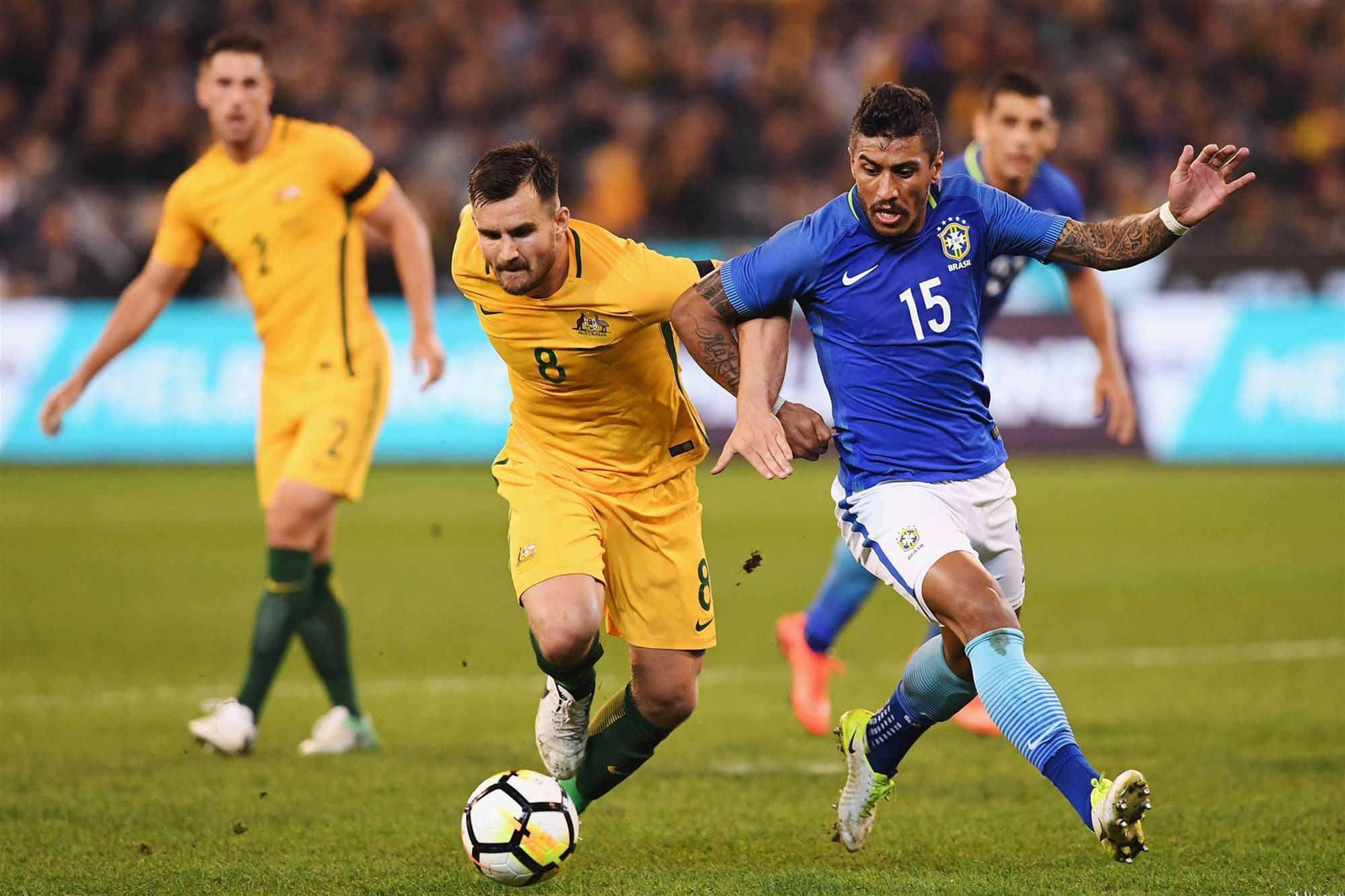 Socceroo busting to Wright wrong against Germany