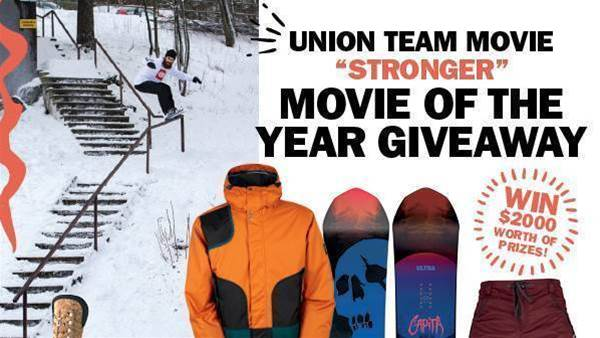 Union Movie of the Year Giveaway