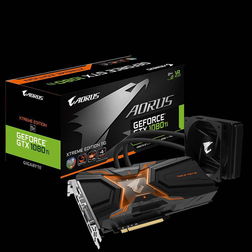 Gigabyte reveals two new GTX 1080 Ti cards, made for watercooling