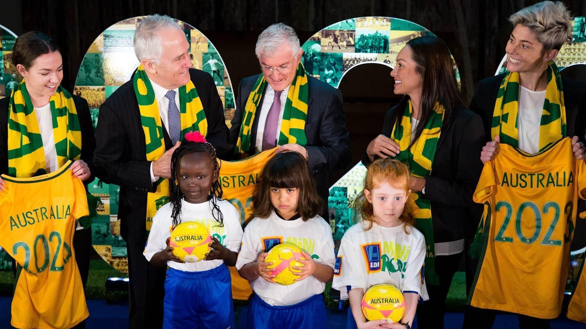 Simon: Matildas' success will boost World Cup bid