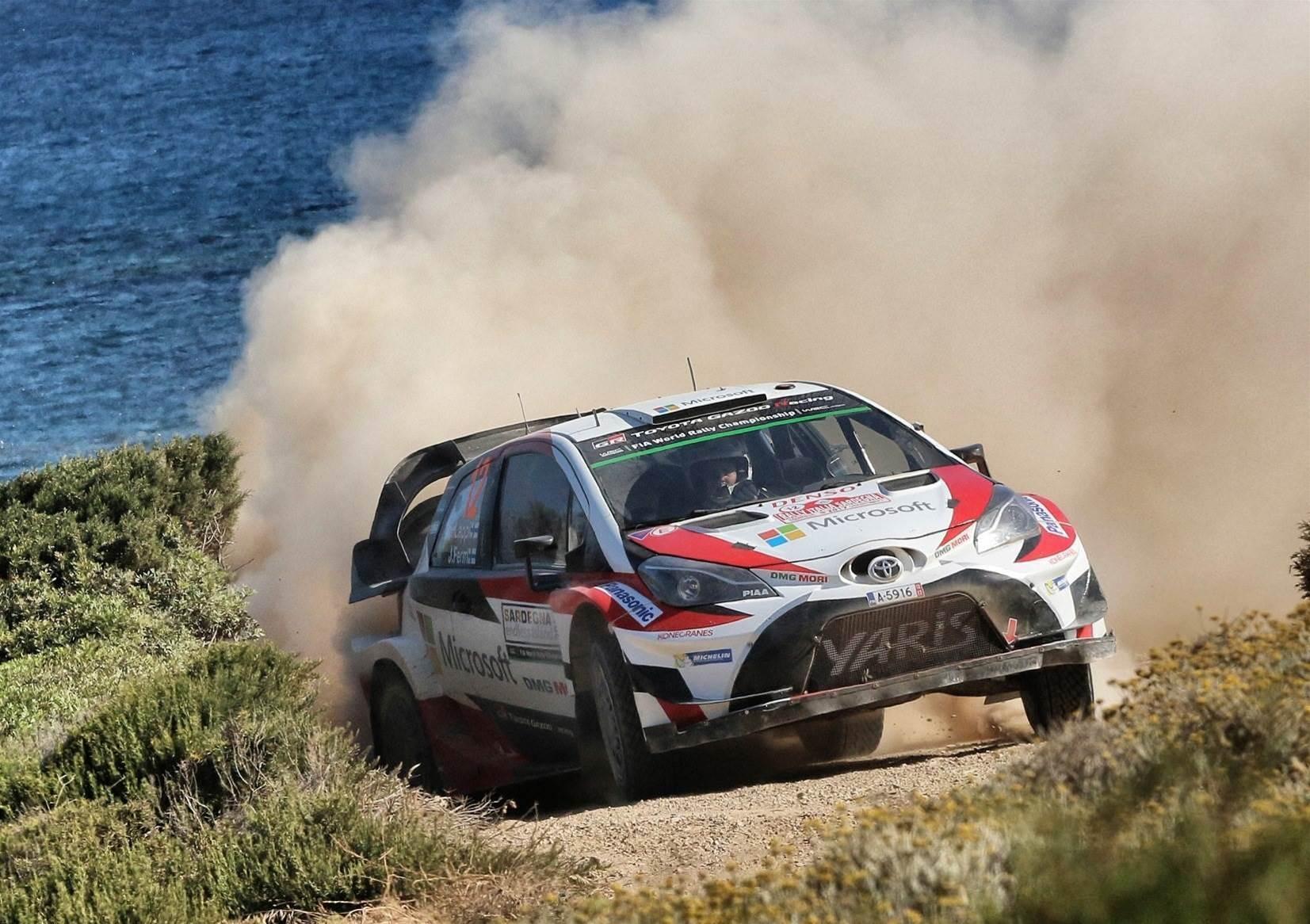 Toyota backs Rally Australia