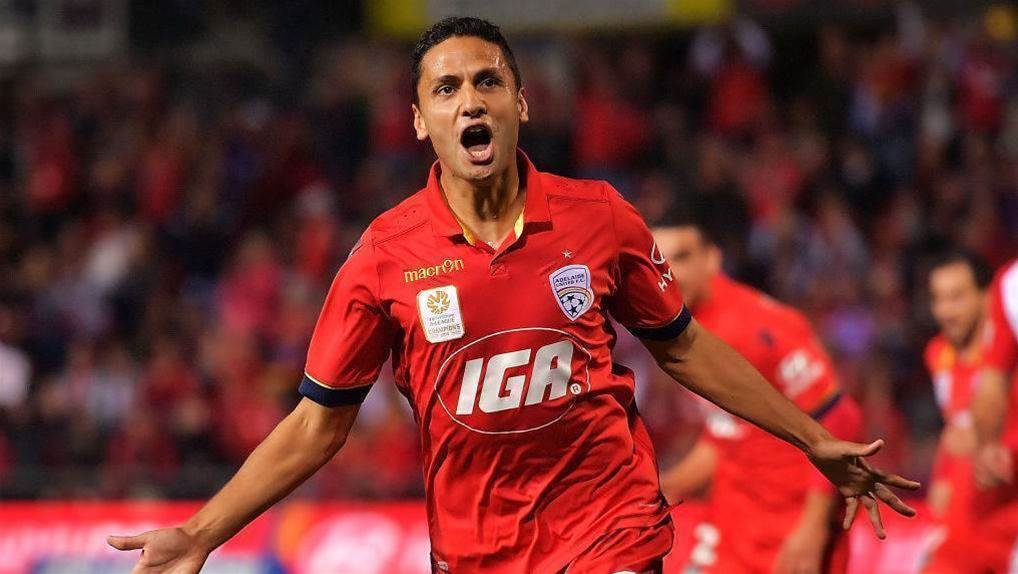 Adelaide confirms Carrusca exit