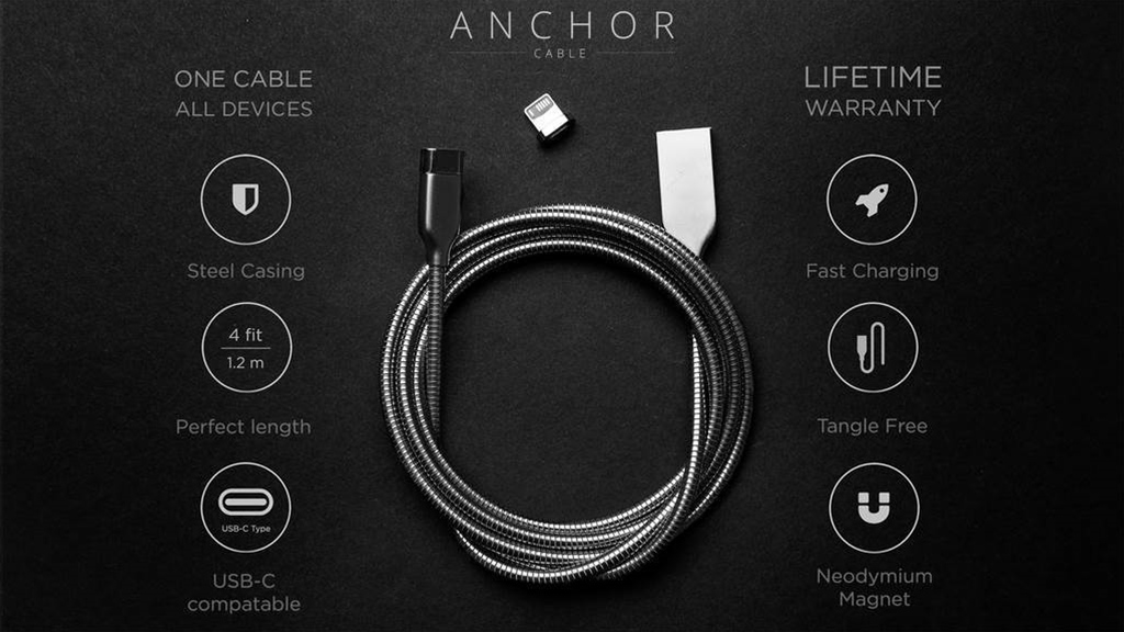 This steel cable will charge all of your devices