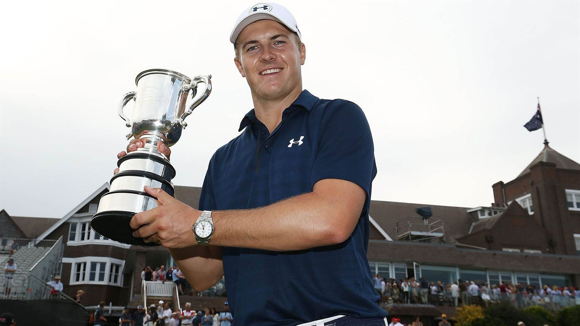 Spieth set to defend Australian Open
