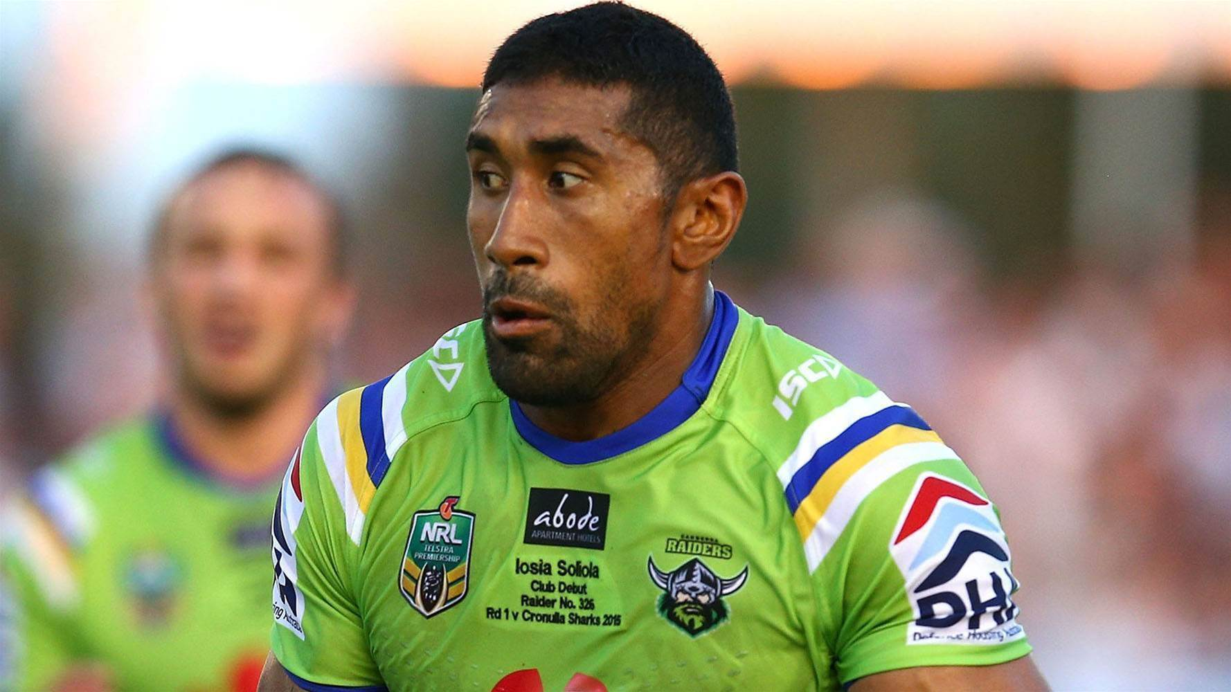 Slater's health spells doom for Soliola