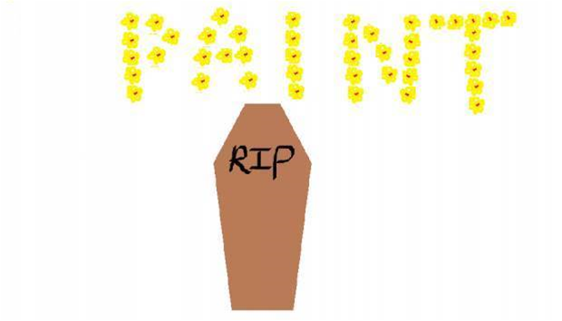 Microsoft has marked Paint for death