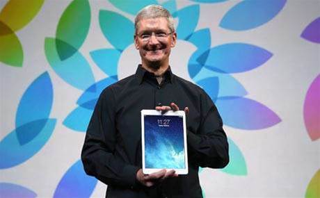 Apple's iPad sales surge in education, says CEO Tim Cook