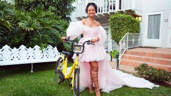 Rihanna launches bike programme for girls in Malawi