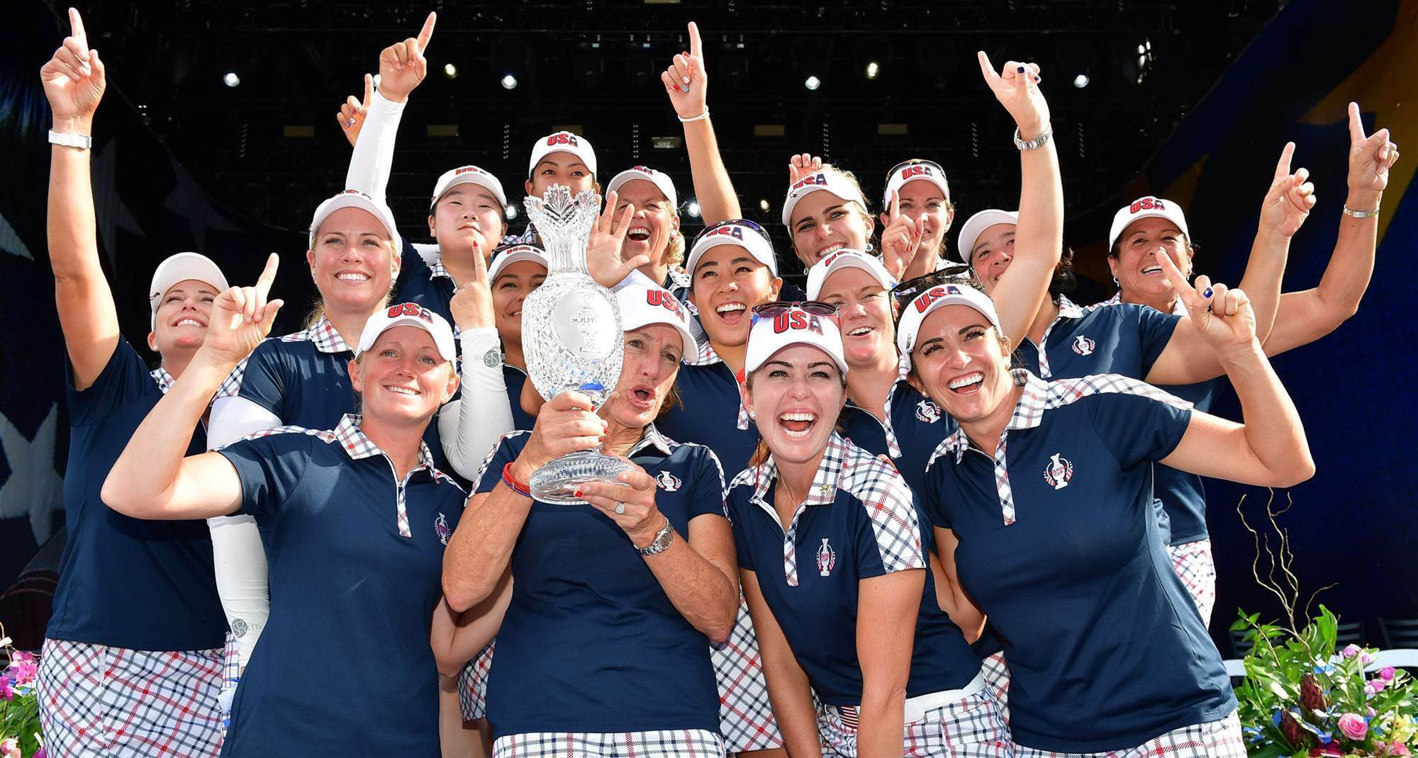 Team U.S defeats Europe to retain Solheim Cup
