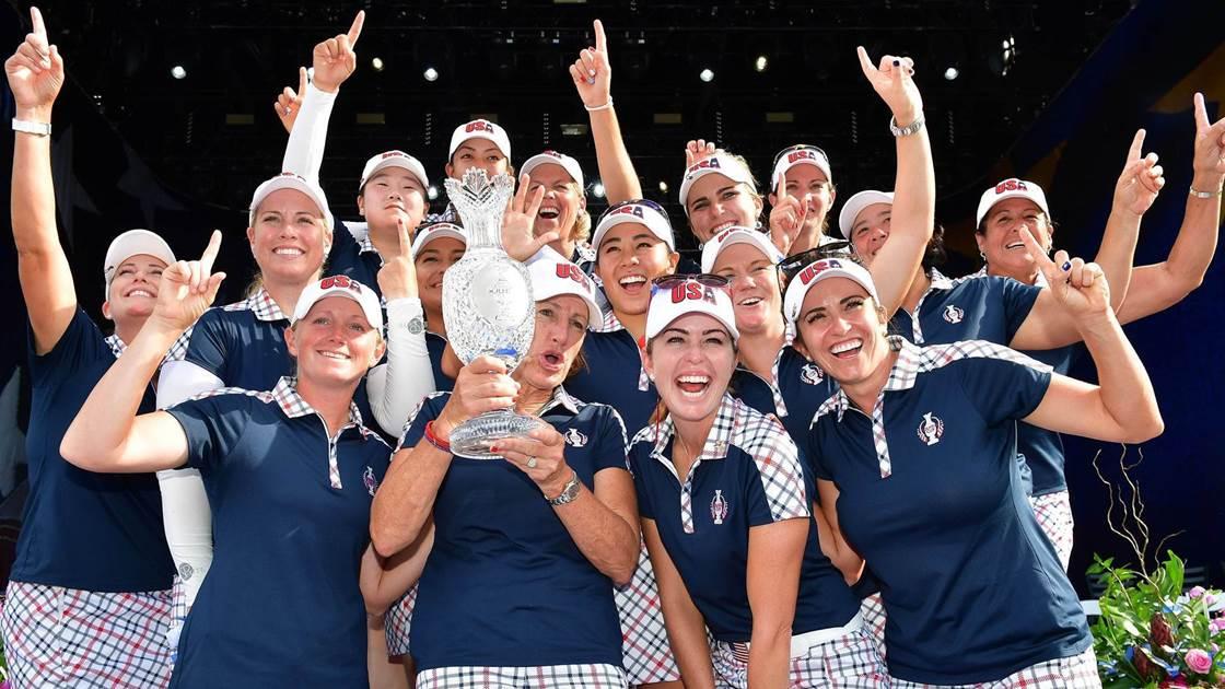 Team U.S defeats Europe to retain Solheim Cup