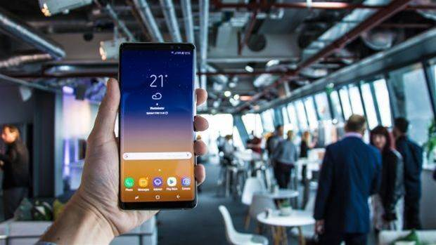 Hands-on with the Samsung Galaxy Note 8