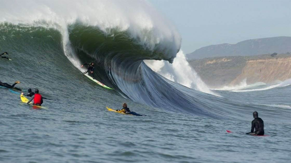 WSL One Step Closer to Adding Mavericks to the Big Wave World Tour Schedule