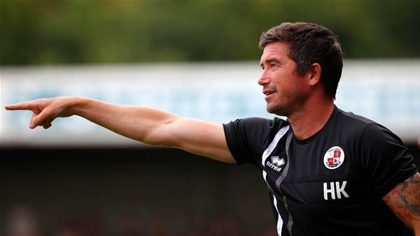 Kewell's Crawley grab first win