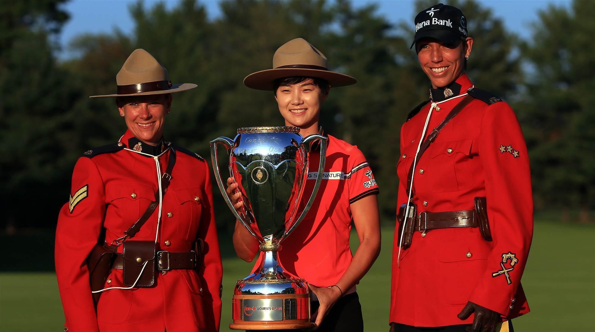 LPGA TOUR: Sung Hyun Park storms home to win the CP Women's Open