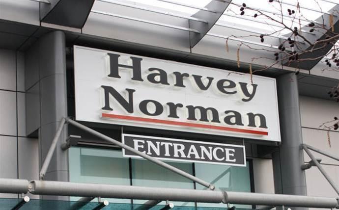 Harvey Norman shares drop despite record profit