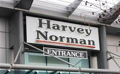 Harvey Norman shares drop despite record profit