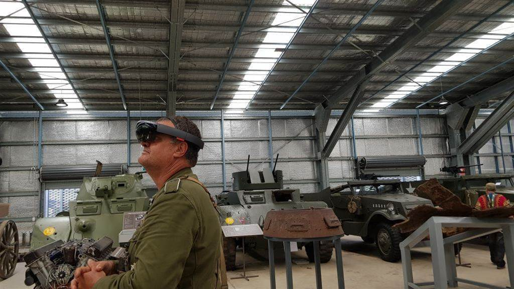 Wargaming brings a virtual Sturmtiger to Australia's biggest tank museum