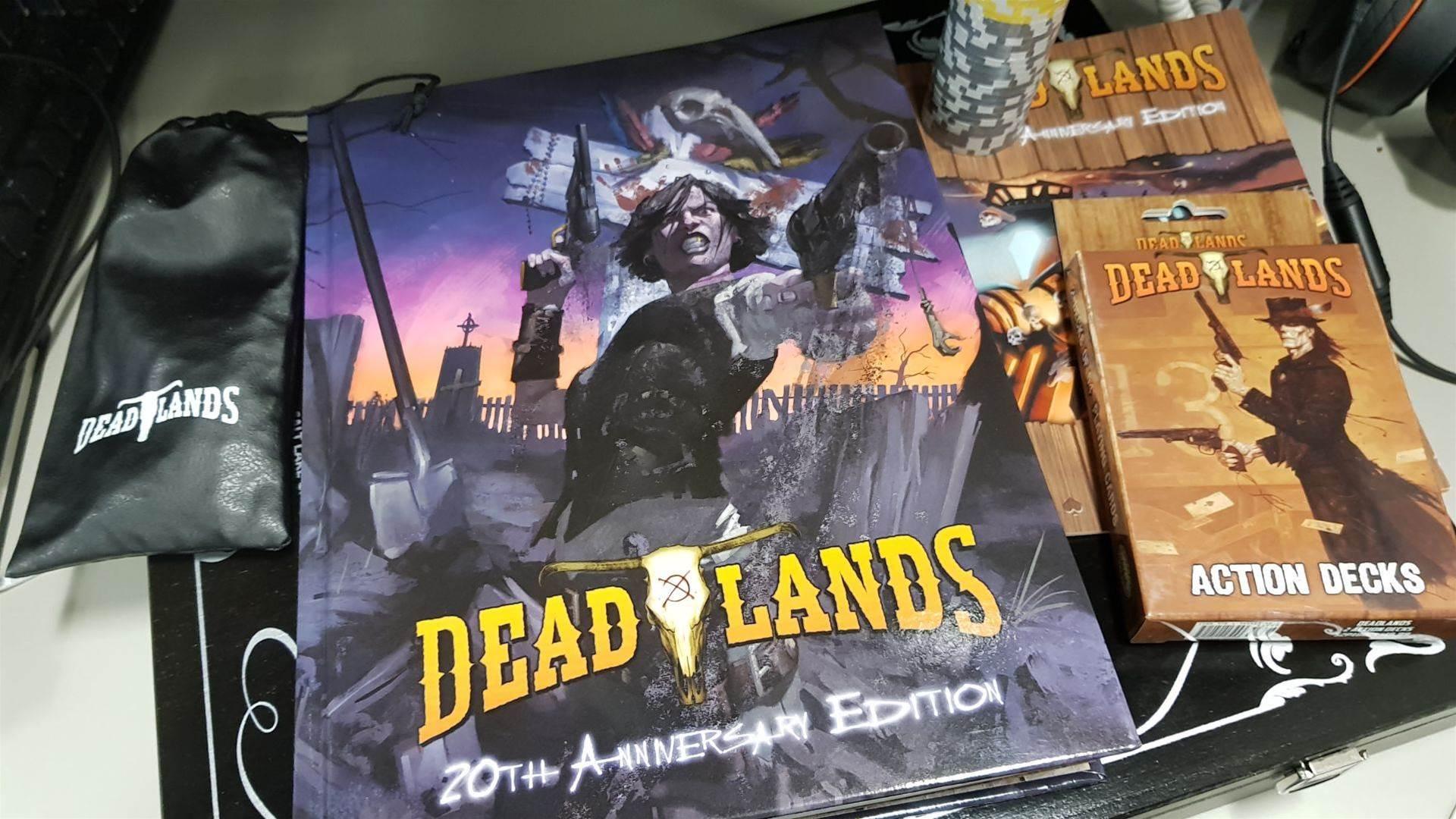 The Deadlands 20th Anniversary kickstarter package is pretty damn neat