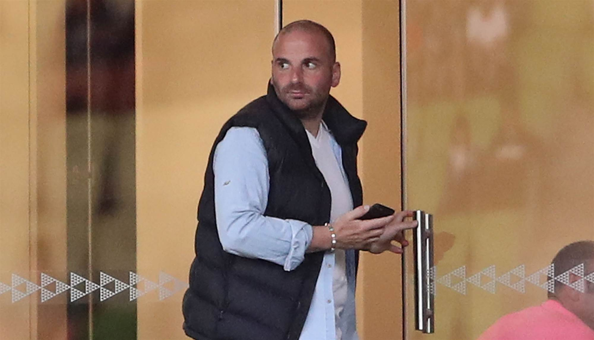 George Calombaris bans himself from A-League games