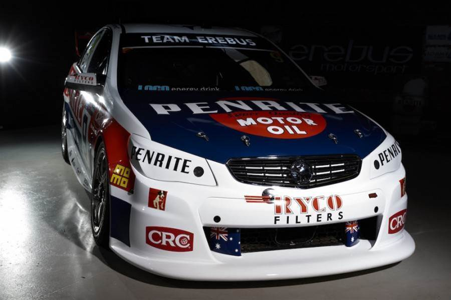 Erebus unveils Brock retro livery for Sandown