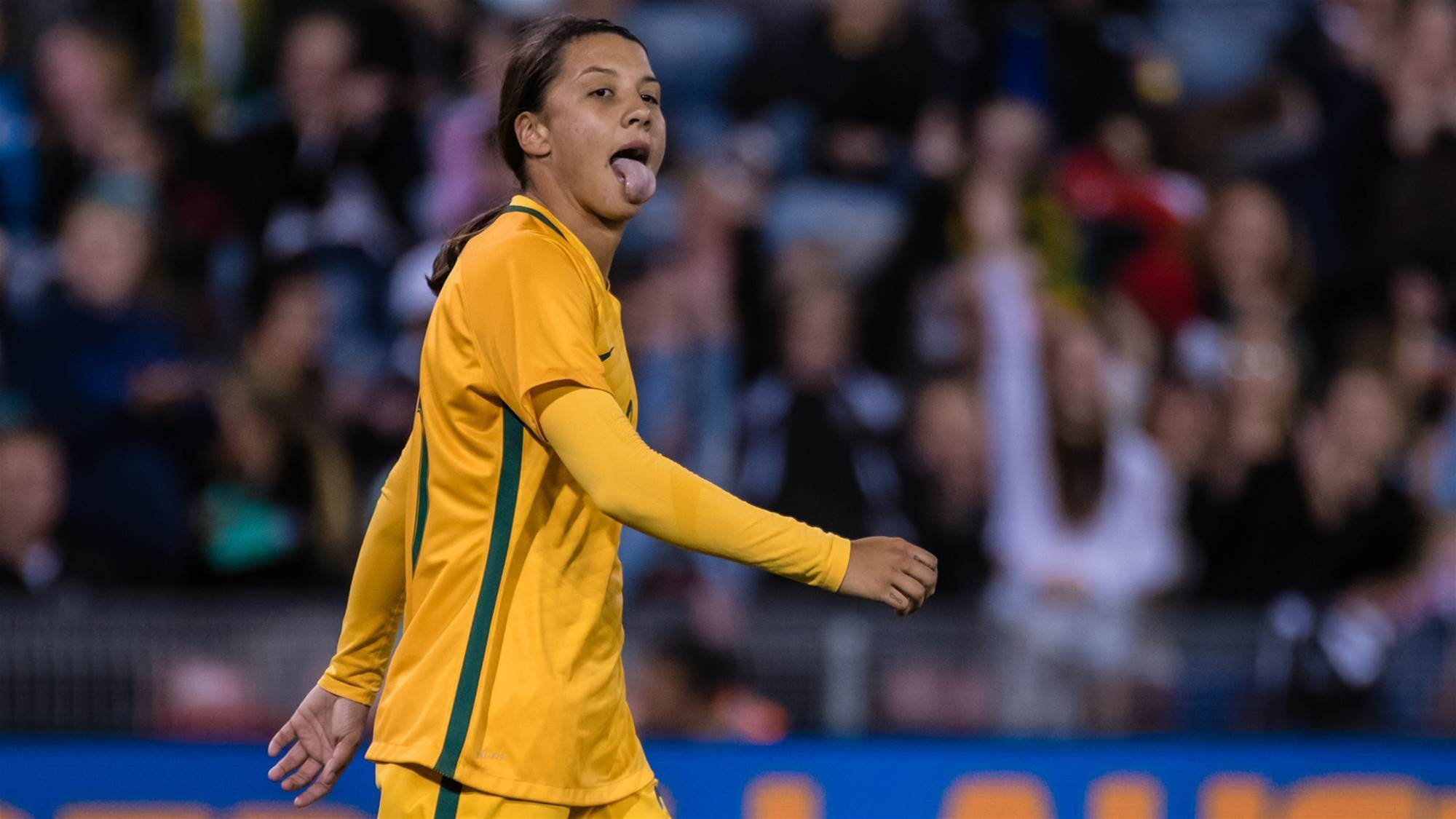 Sam Kerr snubbed in FIFA awards