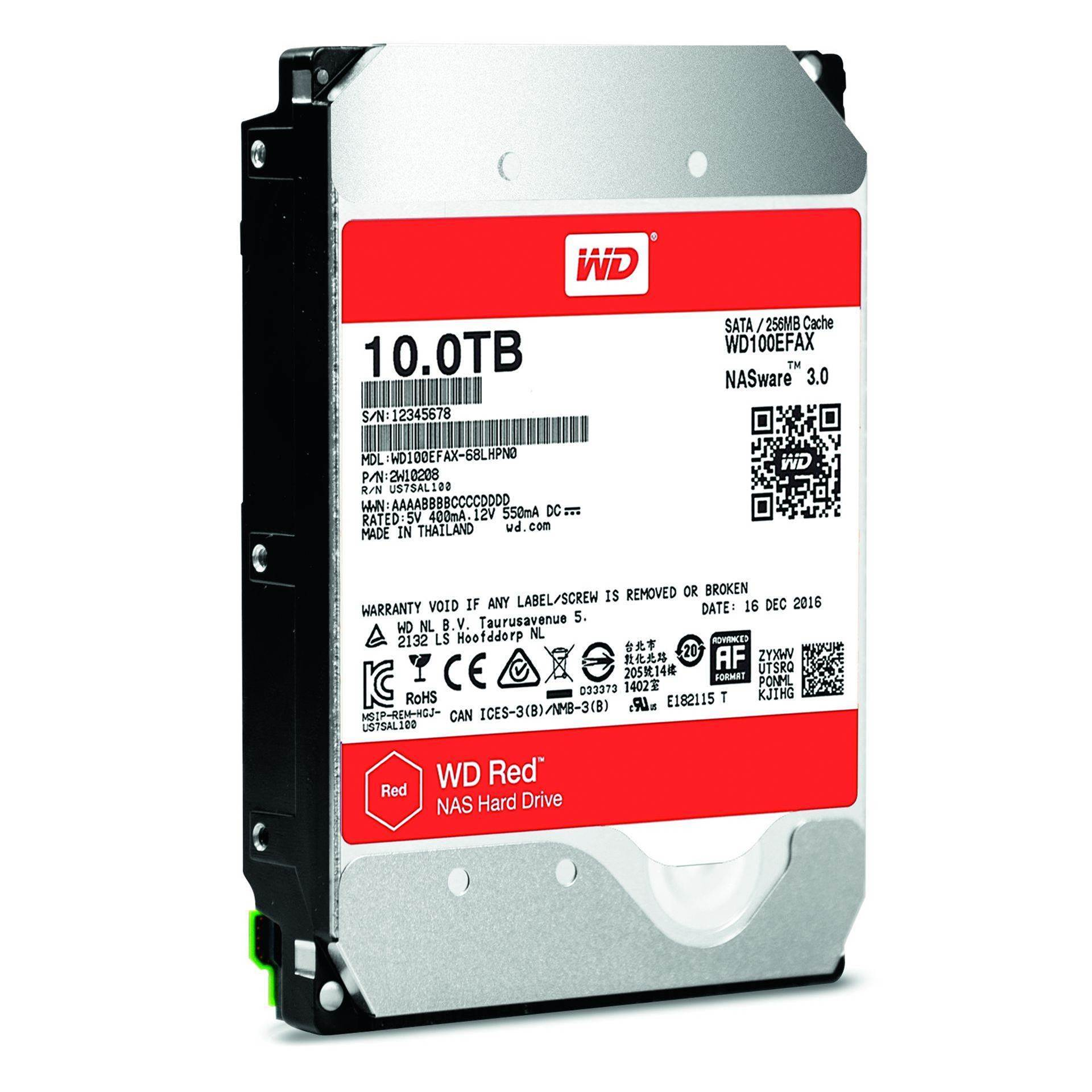 Review: WD Red 10TB NAS hard drive