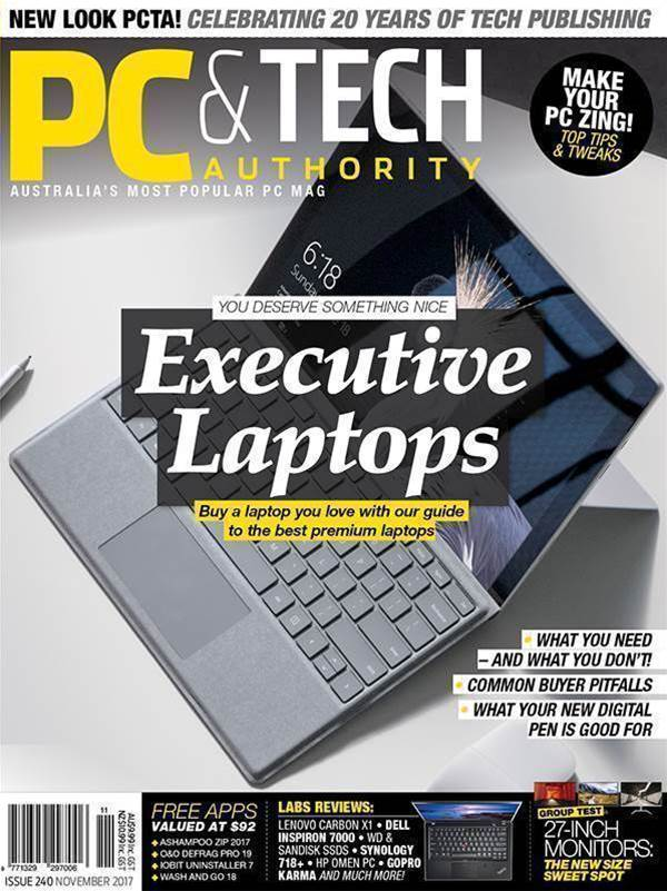 Happy 20th birthday PC & Tech Authority magazine!
