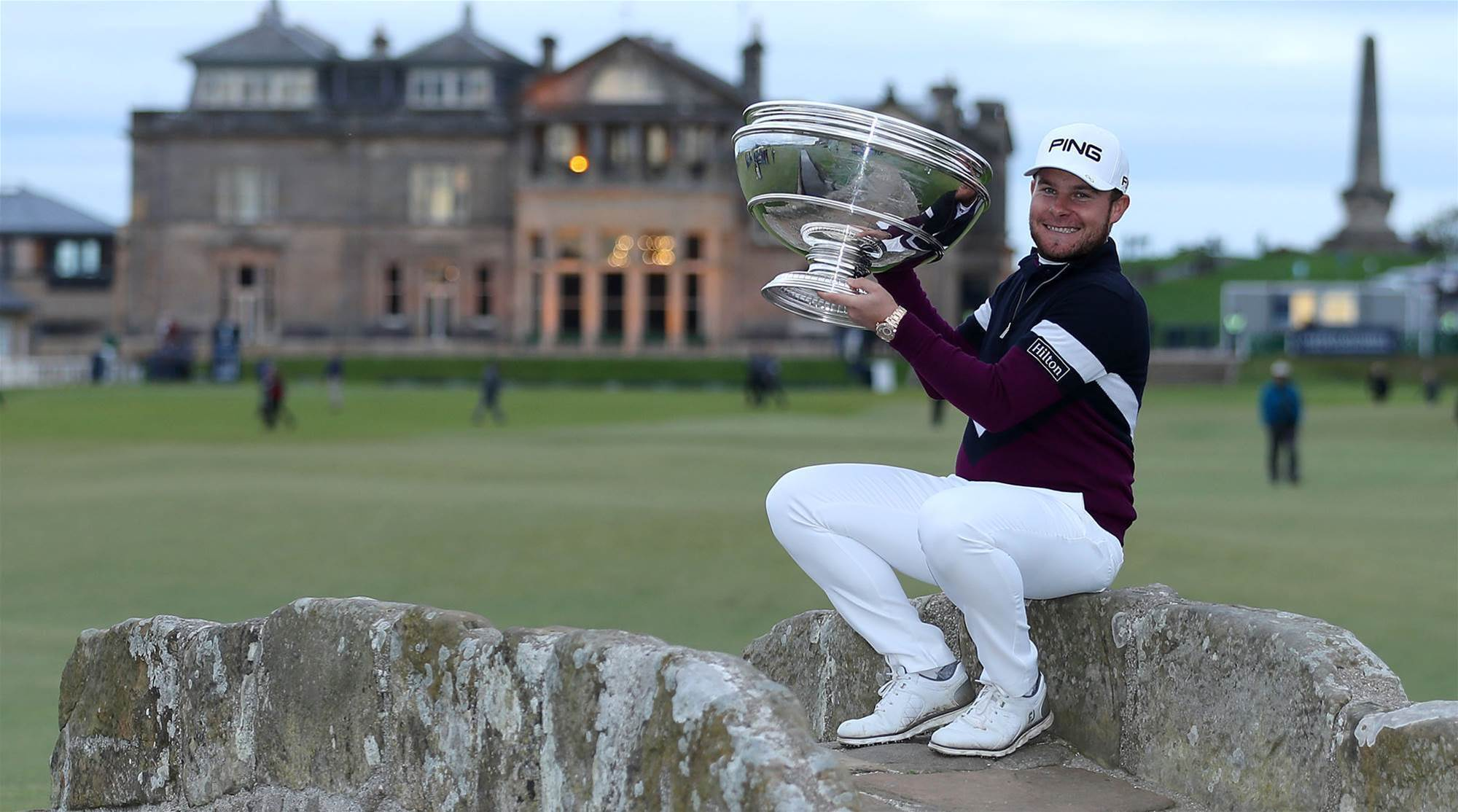 EURO TOUR: Tyrrell Hatton wins second straight Alfred Dunhill Links title