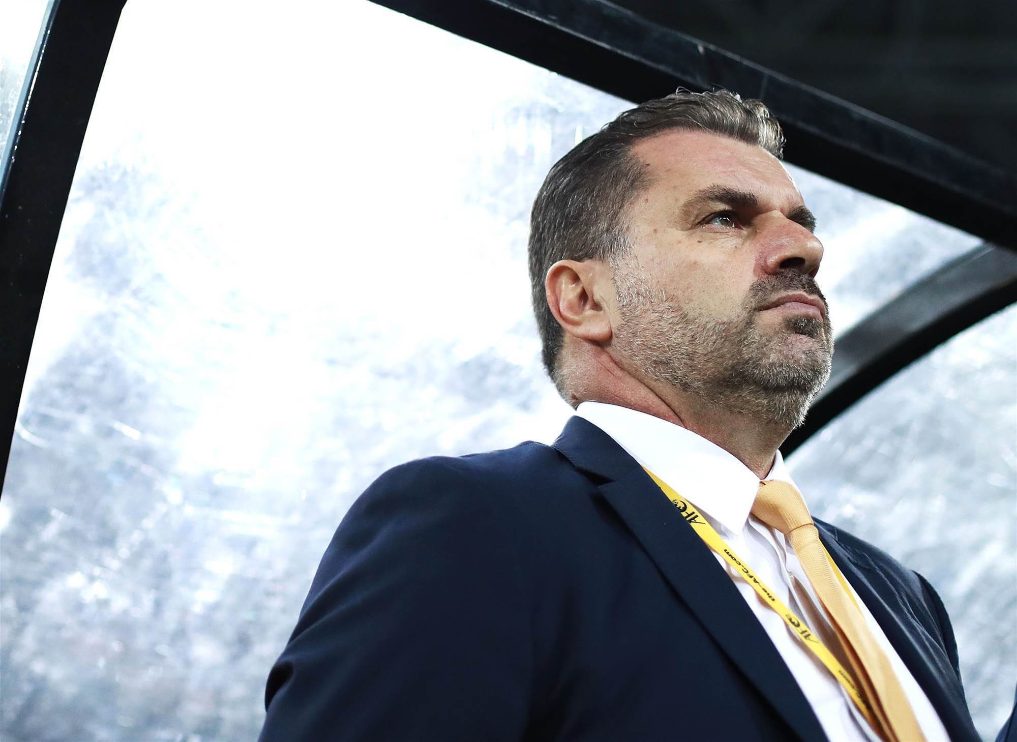Ange responds to rumours he'll quit Socceroos