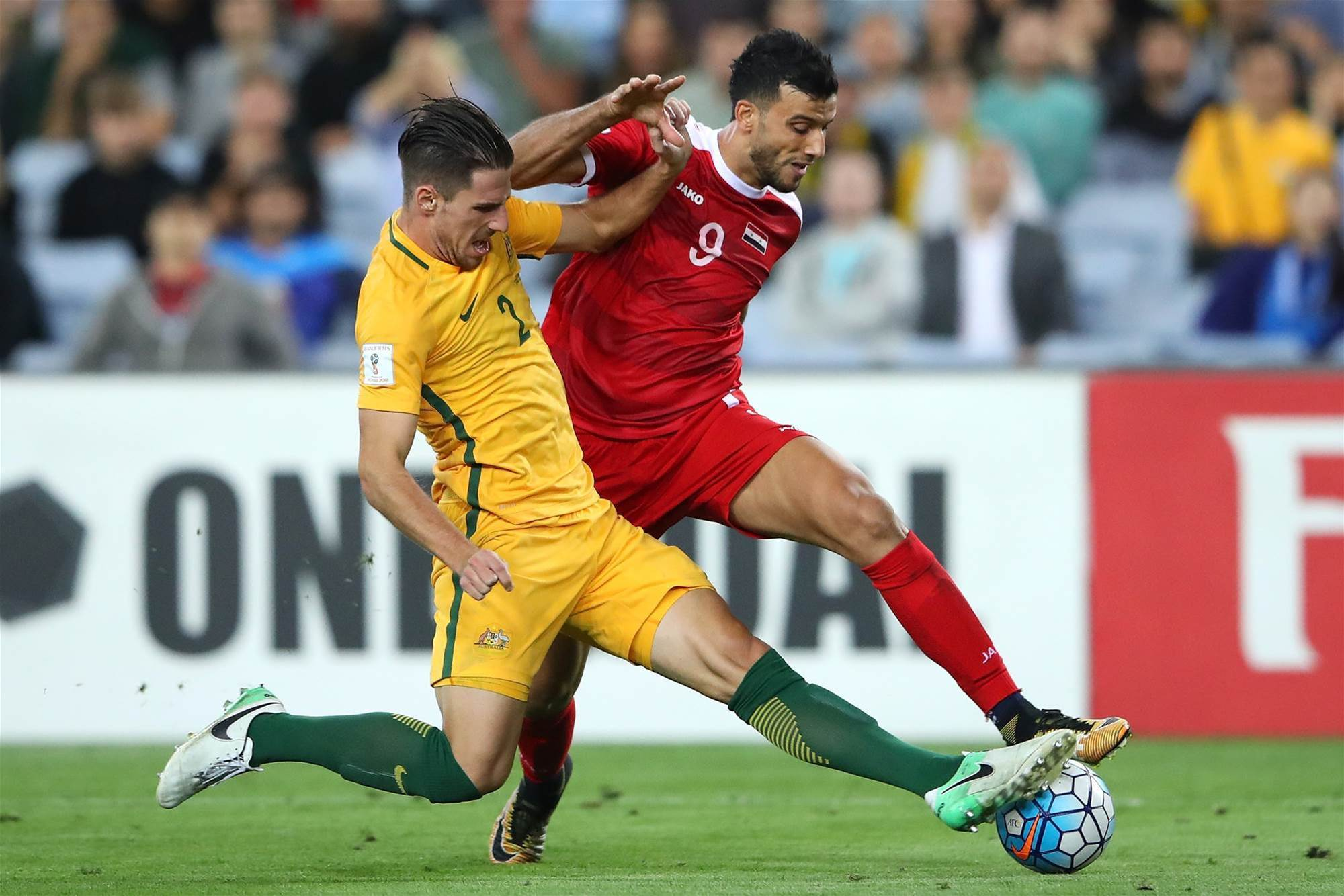 Match analysis: Australia v Syria