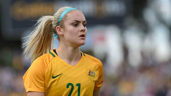 LIVE VIDEO: Young Matildas v Korea